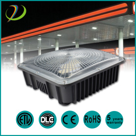 ETL DLC IP65 LED Canopy Light 50W
