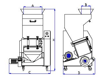 RG-16 middle speed granulator