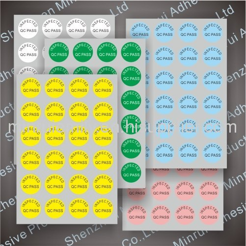 Custom qcqa labels from different materials in china