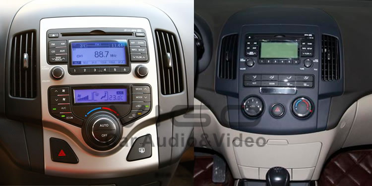 Hyundai I30 Touch Screen Hd Car Stereo Dvd Player Radio