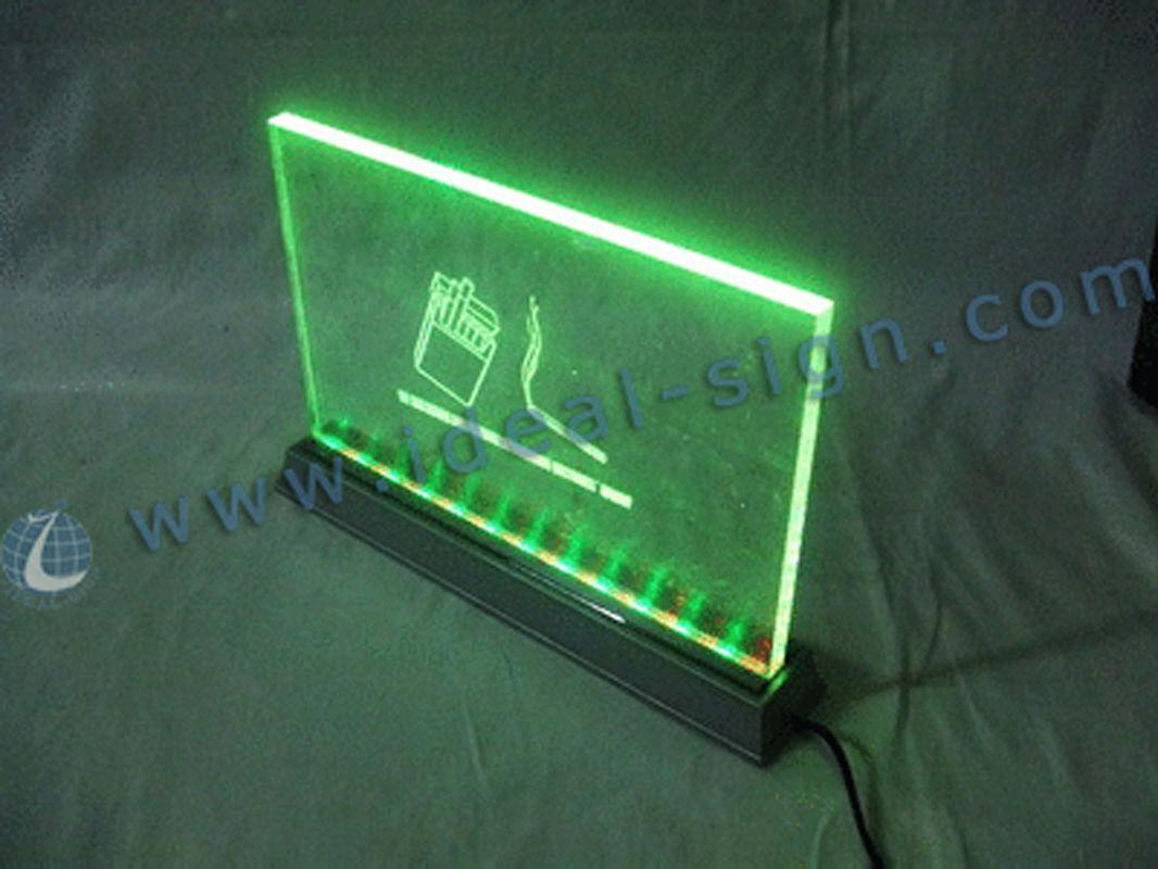 Edge Lit Glass Panels