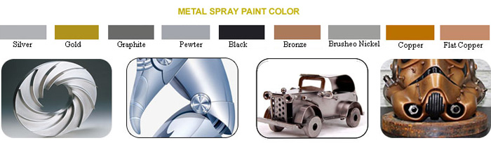 METAL SPRAY PAINT COLOR