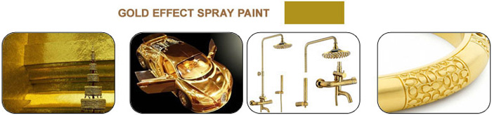 gold spray paint color