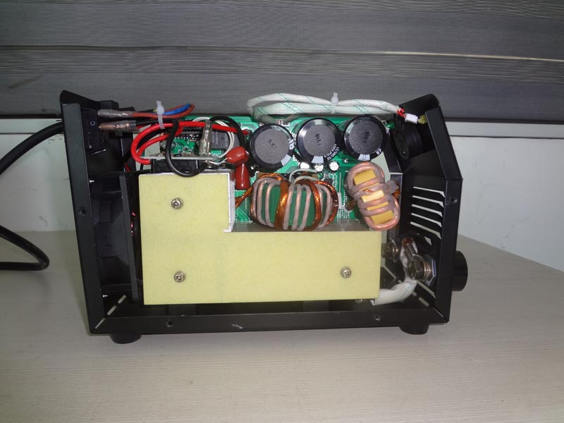 Mini IGBT welding machine inside structure of  X160A-Ⅳ
