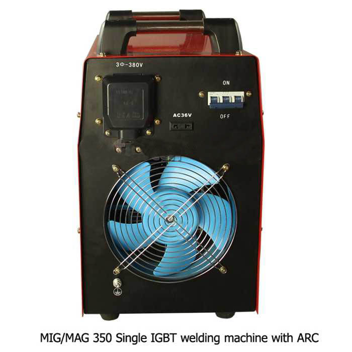 Dancy NBC-350 MIG/MAG/ARC multi welding machine