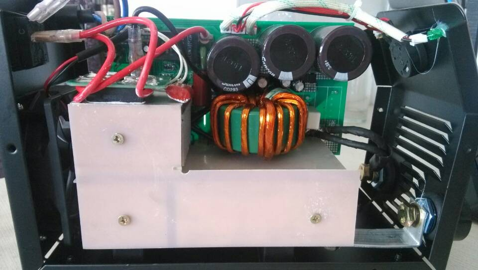 Mini IGBT welding machine inside structure of  X120A-Ⅳ  X140A-Ⅳ