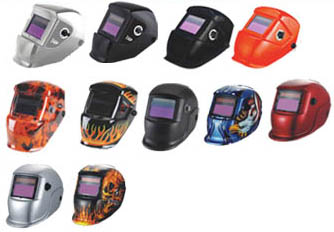 Impact series wellding helmet,more than 12 models