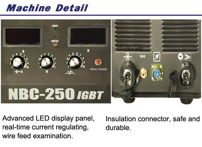MIG/MAG welding machine NBC250