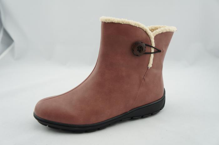 winter boots brick