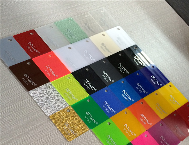 Transparent Colored Perspex Extruded Plexiglass Acrylic Sheet For ...