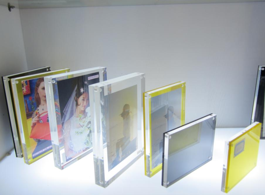 Square / Rectangle Custom Acrylic Products , Clear Acrylic Photo ...