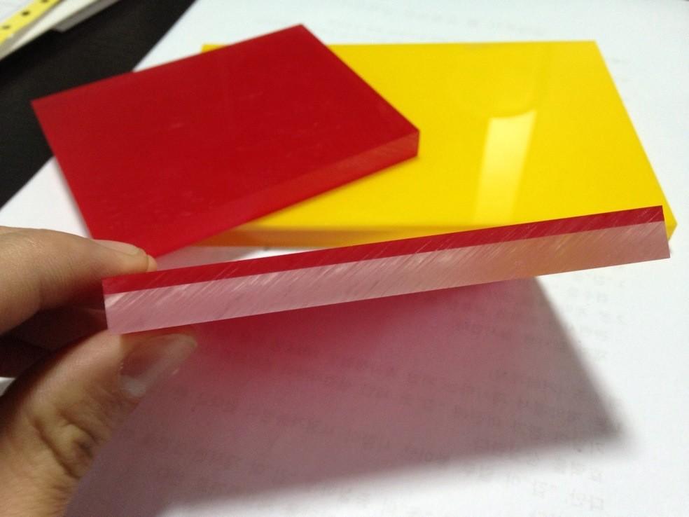 Green Pink Decorative Plexiglass Acrylic Panels Marble