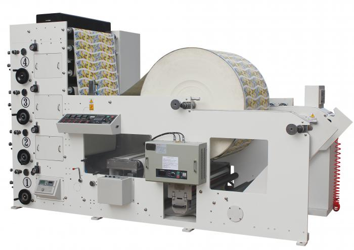 4 color paper cup printing machine