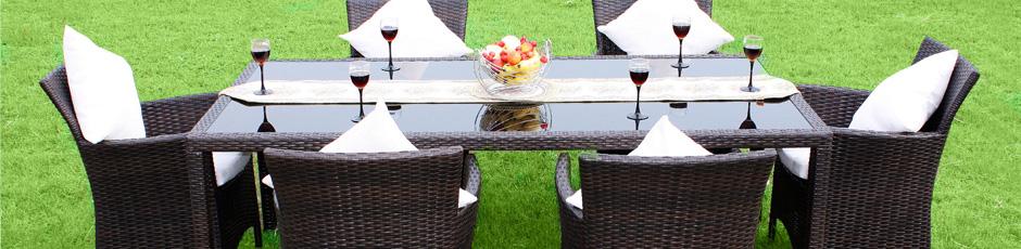 Establece muebles de exterior, muebles de jardín, muebles del ocio ...