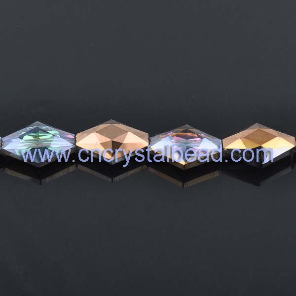 diamond shape beads