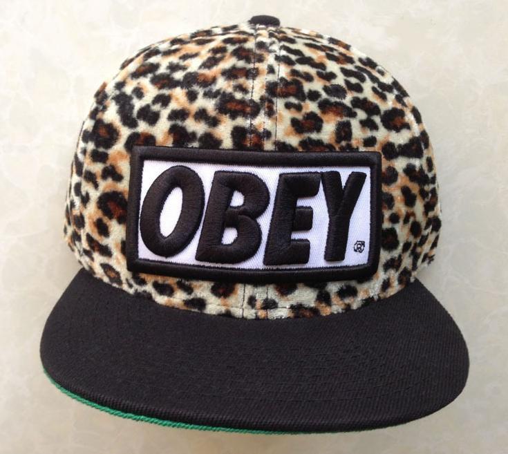 gorras obey de leopardo e68228199da