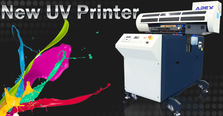 A1 Size Digital Upgrade UV Flatbed Printer with Moveable Stand