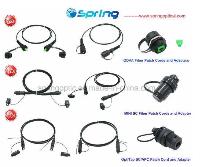 Waterproof Optitap Sc Fiber Optical Patch Cords