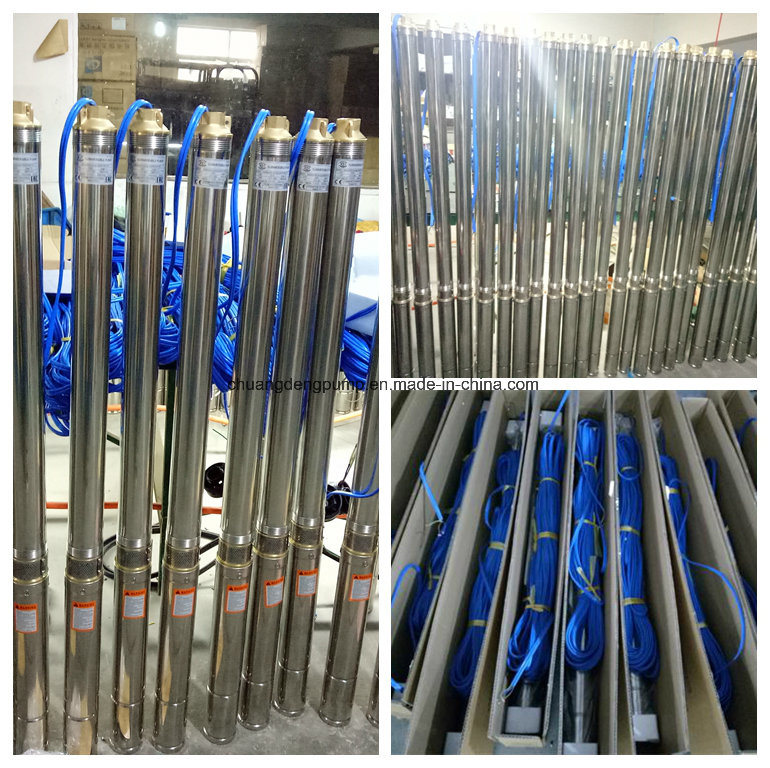 Small Diameter High Pressure Stainless Steel Submersible 4