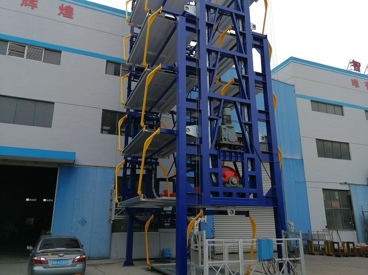 Automated Mechanical Rotary Lifting Multistory Easy Car Parking Garage Equipment