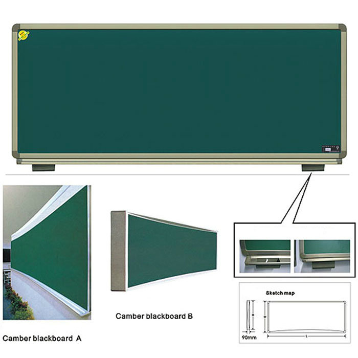 Classroom Furniture Chalk Board with Steel Surface