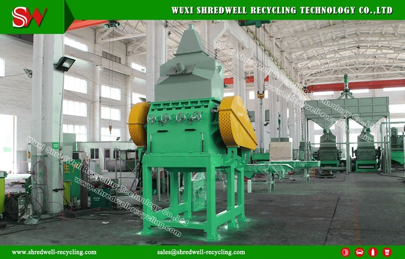 Full Automatic Waste Tire Granulator for Rubber Powder