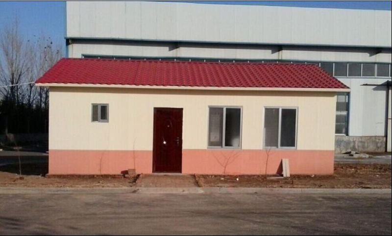 Steel Structural Prefab Cement House (KXD-pH1378)