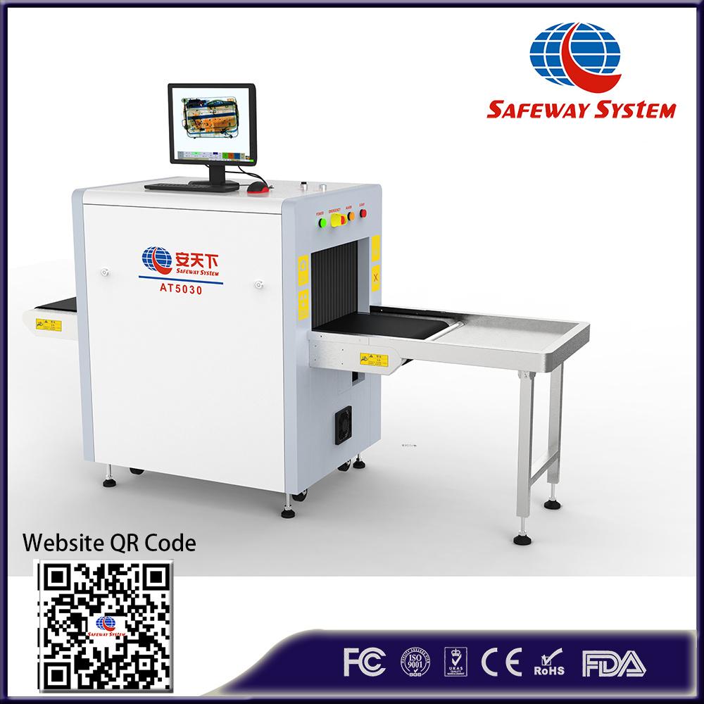 High Resolution X-ray Baggage Screening Scanner Checking Luggage Machine
