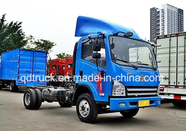 China Sinotruk 4*2 Van Container Light Medium Cargo Truck