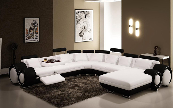 100% Top Grain Cheap Leather Sofa with Factory Prices