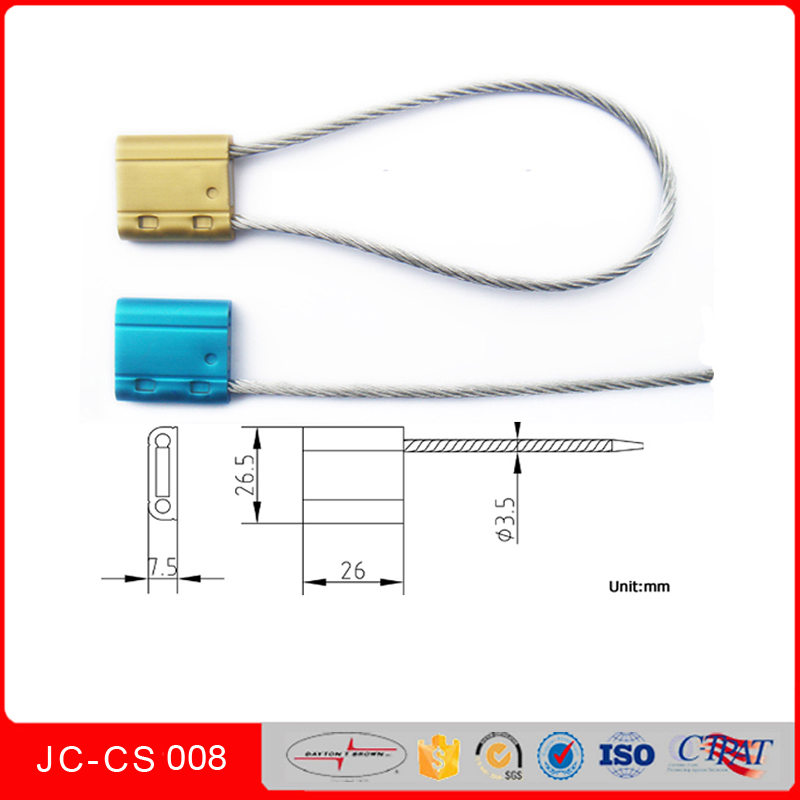 Jccs-008 High Quality Security Cable Seals for Railcars