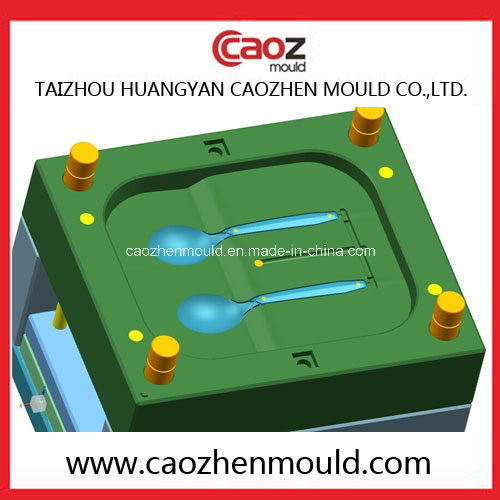 Plastic Two Cavity Big Spoon Test Mould