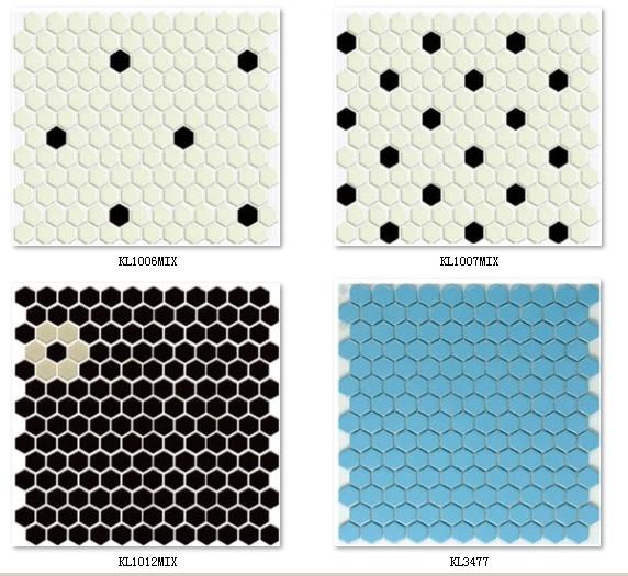 3D Blackground Mosaic Tile