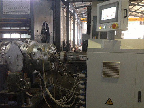 Plastic PE Pipe Production Line