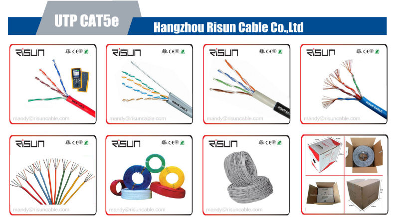 Profitable LAN Cable Data Cable Cat5e UTP Cable with Ce/RoHS/ETL Approved