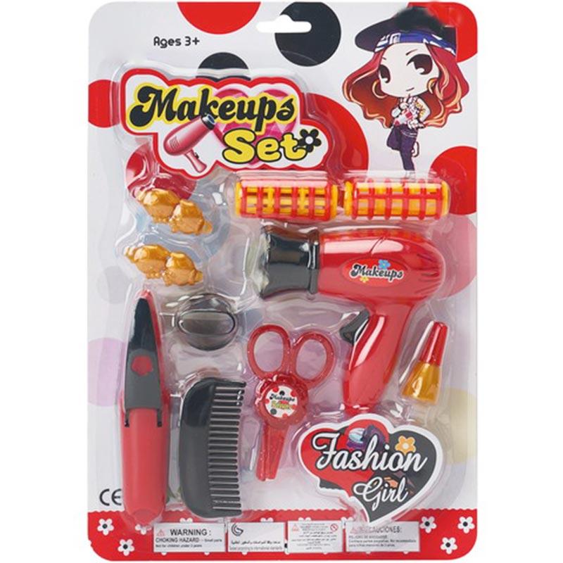 Girs Hair Accessories Inertia Cone Toy Set