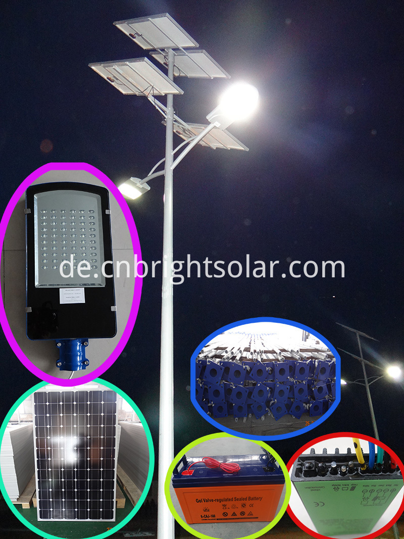 30W Solar LED Street Light Price