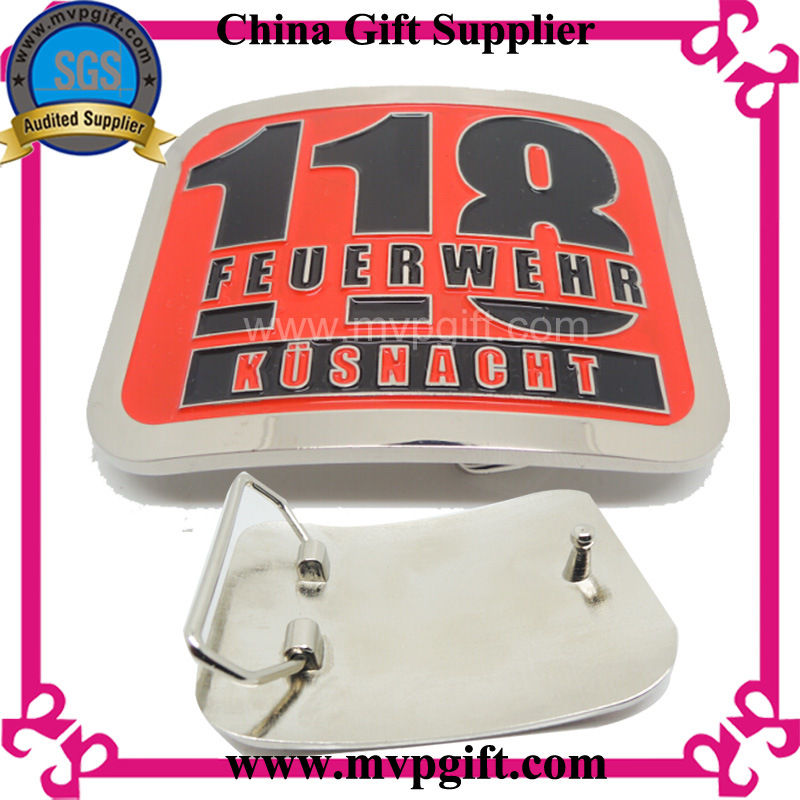 Metal Buckle for Belt Locker with Customer Logos Engraving (m-bb04)