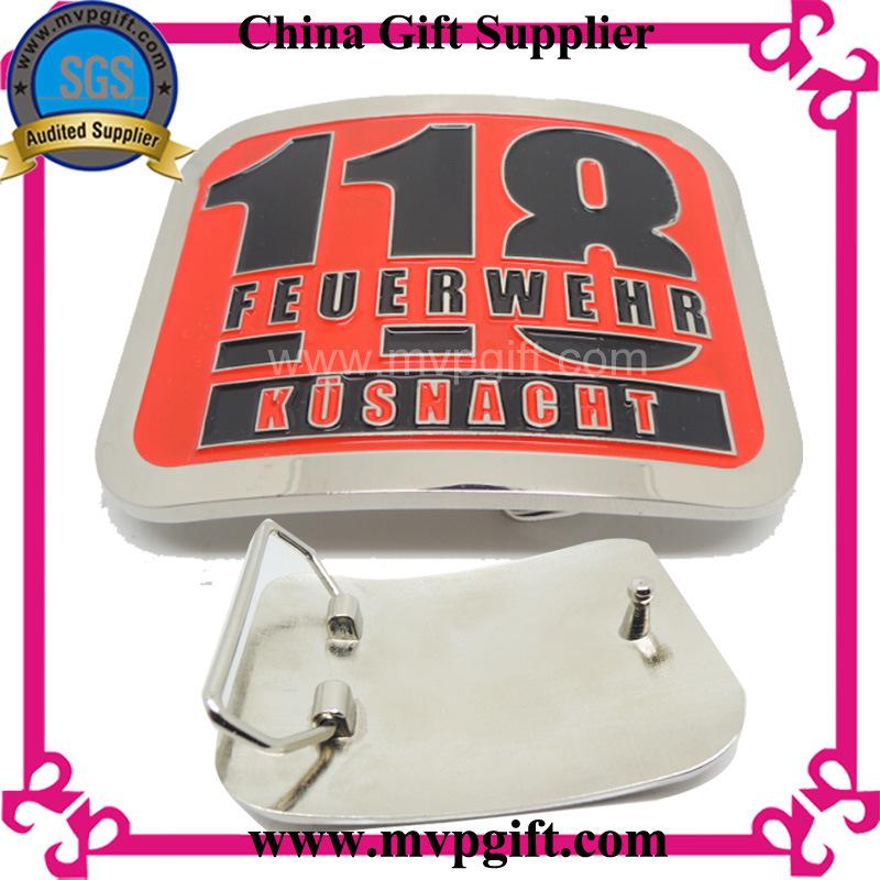 Metal Buckle for Belt Locker with Customer Logos Engraving (m-bb04)