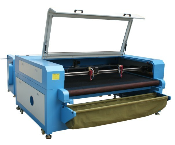 Harga Profesional Cloth / Leather / Acrylic / Wood CO2 Laser Cutting Machine