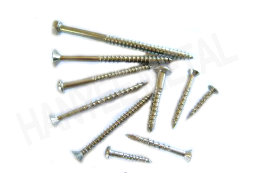 Customized Size China Fastener Supplier M3-14 Wood Screw
