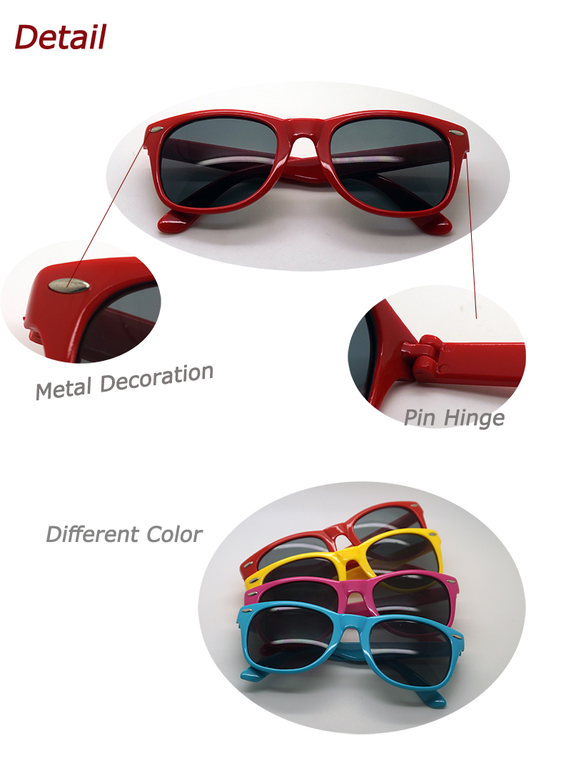 Promation Classical and Fashion Plastic Sunglasses (WSP-3)