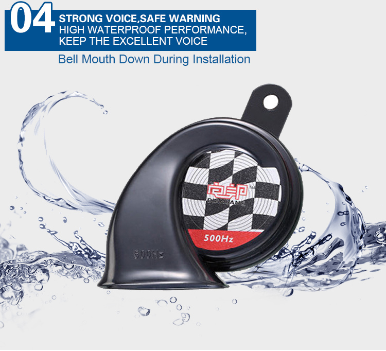 Strong Voice Two-Tone Car Horn for Car Horn Speaker