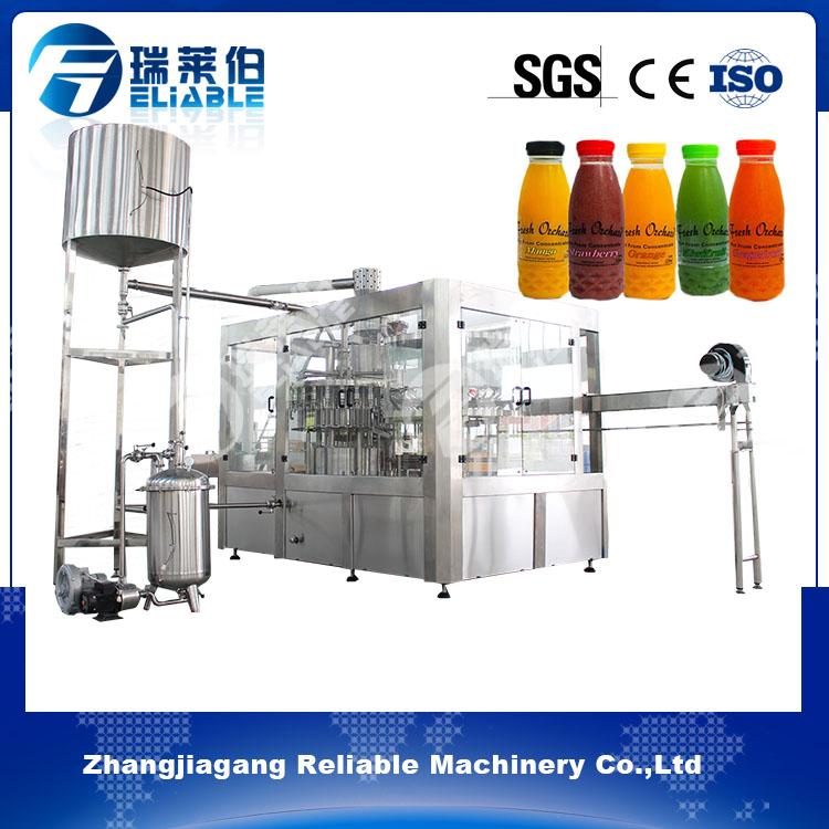 Automatic Plastic Bottle Fruit Juice Filling Machine