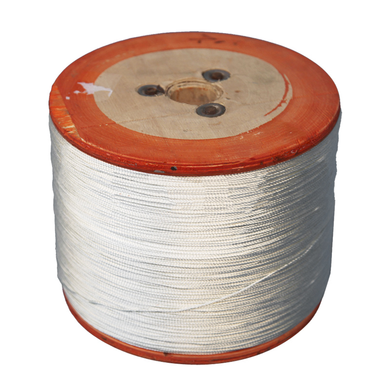 Fiberglass Rubber Filling Thread/ Glass Fiber Rubber Filling Thread