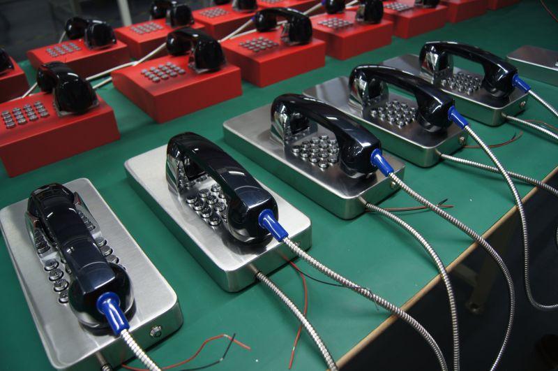Prison SIP/VoIP Telephone, Rugged Wireless Phones, Parking Lots Emergency Phone