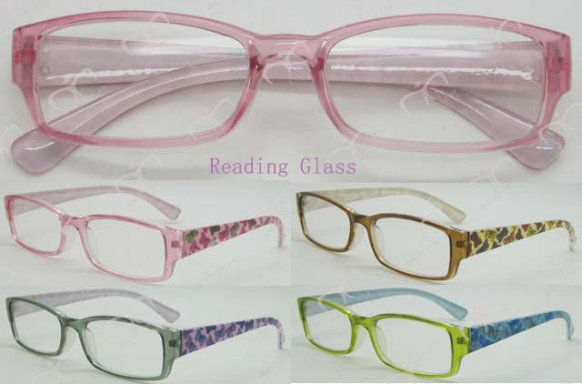 New Fashionable Disply Reading Glasses with Pouch (MRP21680)