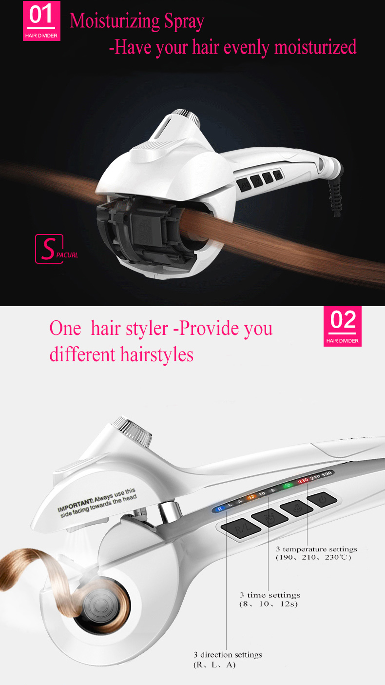 Ufree Automatic Wave Maker Hair Curler
