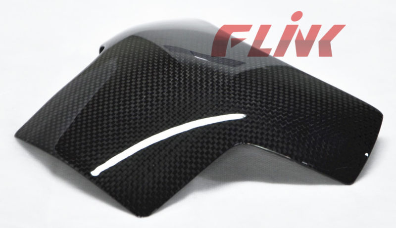 Motorcycle Carbon Fiber Parts Rear Tank Pad (D09829) for Ducati 1098