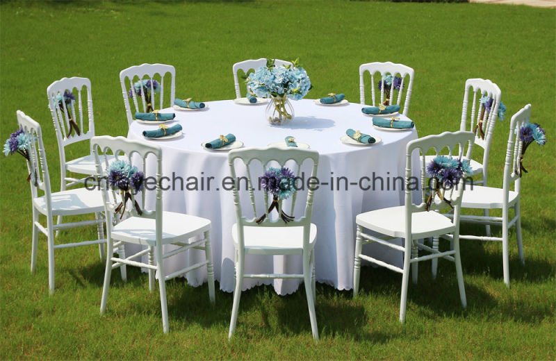 Fan-Back Plastic Outdoor Folding Chair for Wedding